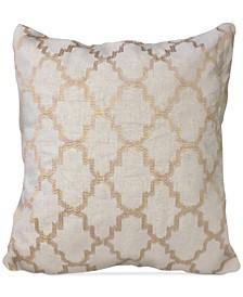 "Olivia Medallion 20"" Square Decorative Pillow"