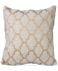 "Homewear Olivia Medallion 20"" Square Decorative Pillow"