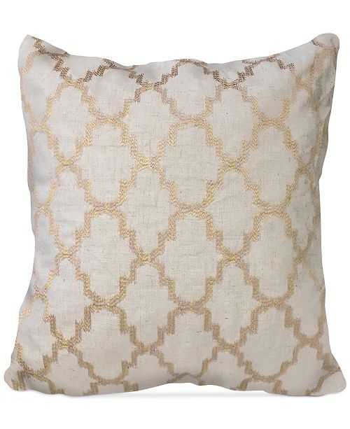 "Homewear Olivia Medallion 20"" Square Decorative Pillow"