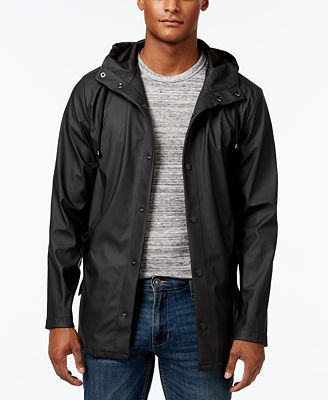 American Rag Men's Rain Slicker, Created for Macy's - Coats ...