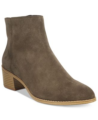Clarks Collection Women's Breccan Myth Suede Booties