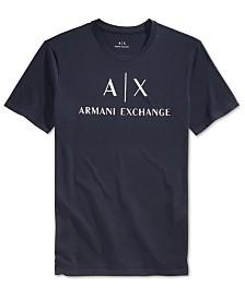 A|X Armani Exchange Men's Graphic-Print Logo T-Shirt