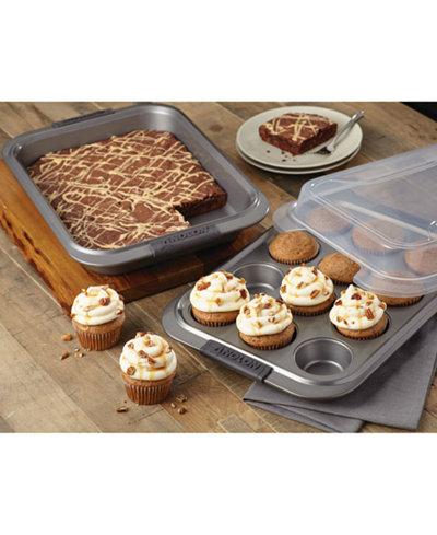 Anolon Advanced Non-Stick 3-Pc. Bakeware Set with Lid