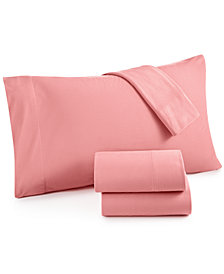 Micro Flannel Solid King 4-pc Sheet Set