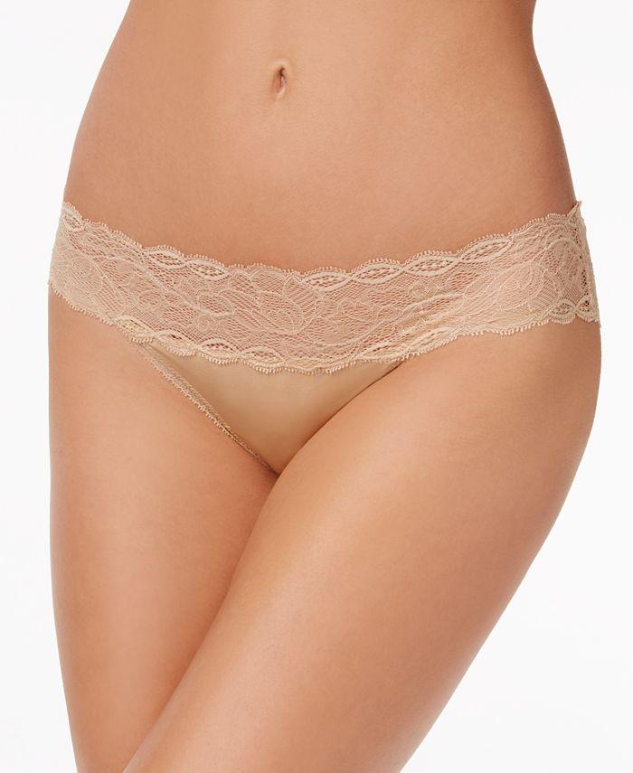 Calvin Klein - Seductive Comfort Lace-Waist Bikini QF1200