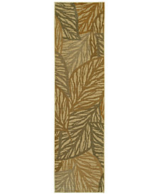 """Tommy Bahama Home Voyage 5507W Beige 1' 10"""" x 7' 6"""" Runner Area Rug"""