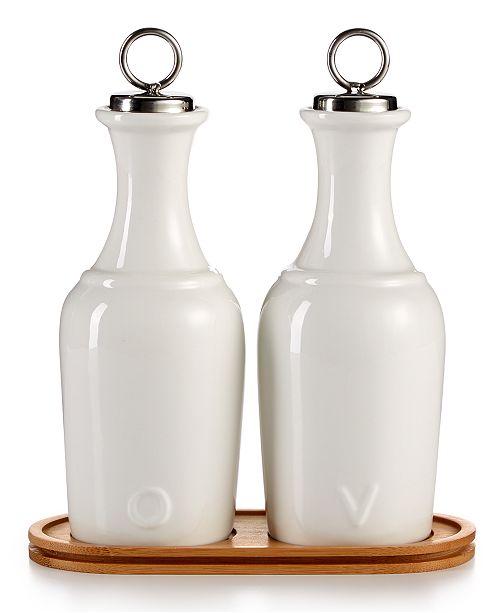 Oil Vinegar Ceramic Cruet Set Created For Macy S