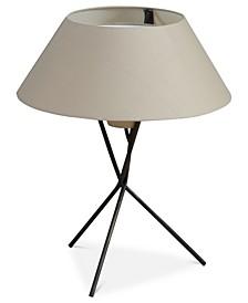 INK+IVY Trio Black Metal Table Lamp
