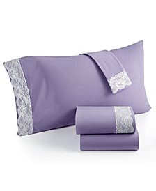 Shavel Micro Flannel® Lace California King 4-pc Sheet Set