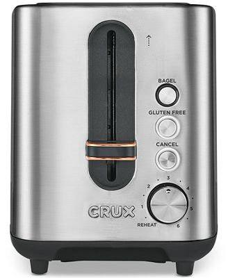 crux crx14544 2-slice toaster, created for macy's - electrics