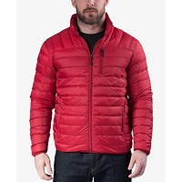Hawke & Co. Outfitter Mens Packable Down Blend Puffer Jacket