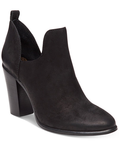 Vince Camuto Federa Open Side Booties Boots Shoes Macy S