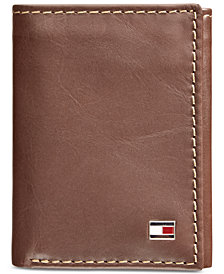 Tommy Hilfiger Men's Logan Zipper Trifold Wallet