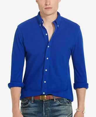 Polo Ralph Lauren Men's Featherweight Mesh Shirt