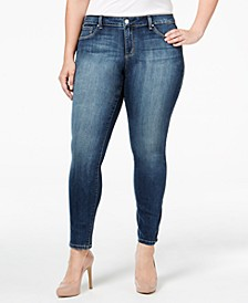 Trendy Plus Size Kiss Me Super-Skinny Jeans