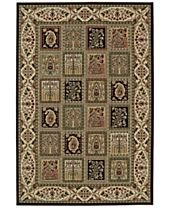 CLOSEOUT! D Style Beacon BEA181 Chocolate Area Rugs