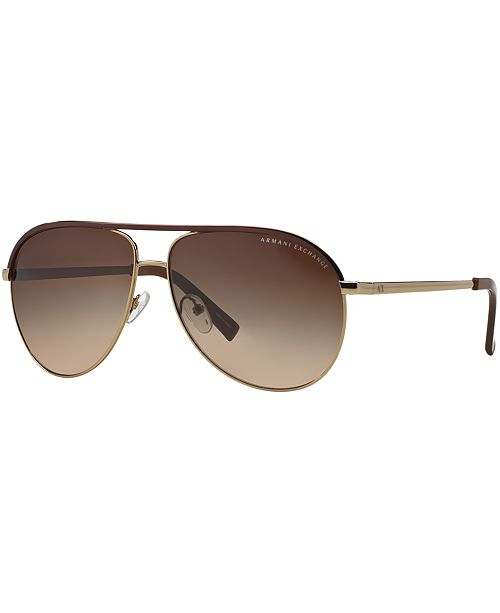 Armani Exchange AX Sunglasses, AX2002