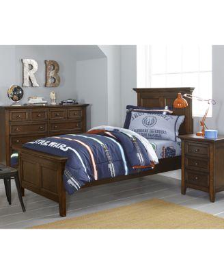 Matteo Storage Platform Bedroom 3 Piece Bedroom Set, Created for Macy's,  (Full Bed, Dresser and Nightstand)