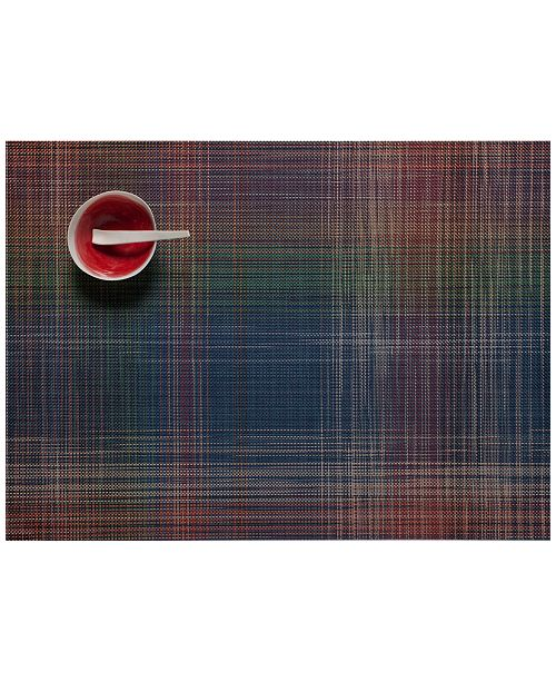 """Chilewich Plaid 14"""" x 19"""" Placemat"""