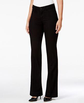 NYDJ Teresa Tummy Control Flare-Leg Jeans - Jeans - Women - Macy's