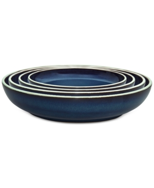 Denby Peveril Collection 4Pc Nesting Bowl Boxed Set