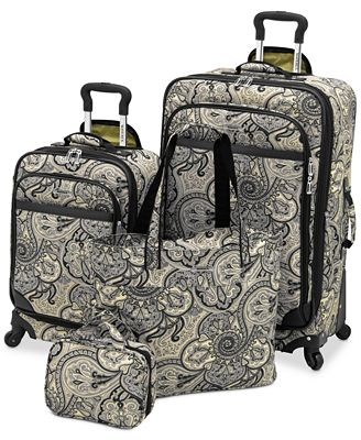 Waverly Boutique 4 Piece Luggage Set - Luggage Sets - Luggage ...