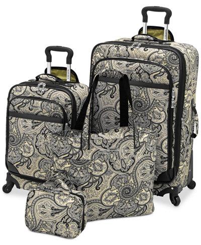 Waverly Boutique 4 Piece Luggage Set - Luggage Sets - Luggage ...