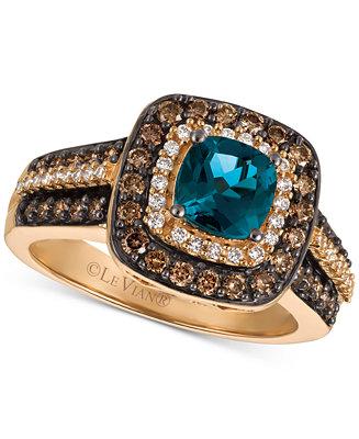 Giani Blue Topaz Ring