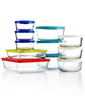 Bon Pyrex 22 Piece Food Storage Container Set, Created For Macyu0027s   Bakeware    Kitchen   Macyu0027s