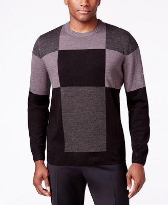 Tricots St. Raphael Men's Patchwork Colorblocked Sweater