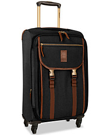 "Timberland Reddington 21"" Expandable Carry-On Spinner Suitcase"