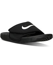 Nike Big Boys'   Kawa Adjust Slide Sandals from Finish Line