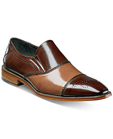 Stacy Adams Men's Brecklin Cap-Toe Slip-On Loafers