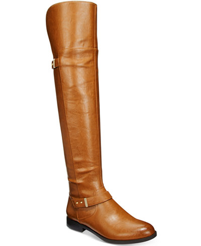Bar III Daphne Over-The-Knee Riding Boots, Only at Macy's - Boots ...