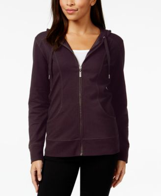 Image of Style & Co Hooded Jacket, Created for Macy's