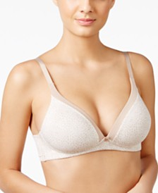 Warner's Invisible Bliss Cotton Wireless Bra RN0141A