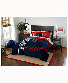 Boston Red Sox 7-Piece Full Bed Set