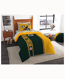 Green Bay Packers 5-Piece Twin Bed Set