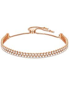 Pavé Crystal Slider Bracelet