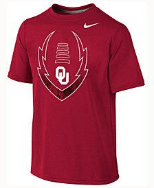 Nike Kids' Oklahoma Sooners Legend Football Icon T-Shirt, Big Boys (8-20)