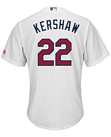 Majestic Men's Clayton Kershaw Los Angeles Dodgers 2016 Stars & Stripes Cool Base Jersey
