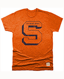 Retro Brand Men's Syracuse Orange Mock Twist Team Logo T-Shirt