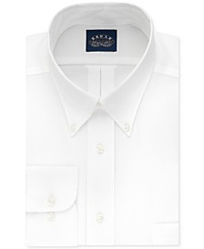 Men's Big & Tall Classic-Fit Stretch Collar Non-Iron Solid Dress Shirt