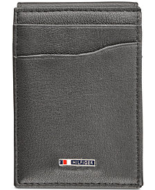 Tommy Hilfiger Men's Lloyd Magnetic Front-Pocket Wallet