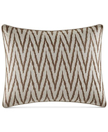 "Tommy Bahama Home Sandy Coast Ikat Embroidered 16"" x 20"" Decorative Pillow"
