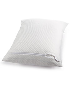 Martha Stewart Essentials Waterproof Bed Bug Standard/Queen Pillow Protector, Created for Macy's