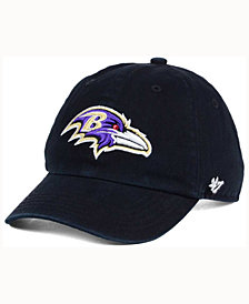 '47 Brand Kids' Baltimore Ravens CLEAN UP Cap