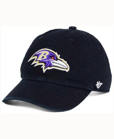 '47 Brand Kids' Baltimore Ravens CLEAN UP Cap