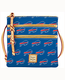 Dooney & Bourke Buffalo Bills Triple-Zip Crossbody Bag