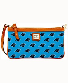 Dooney & Bourke Carolina Panthers Large Slim Wristlet